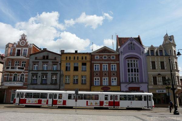 Ale fajne białe tramwaje!.
