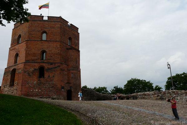 Baszta zamku górnego - wieża Giedymina, XV w.