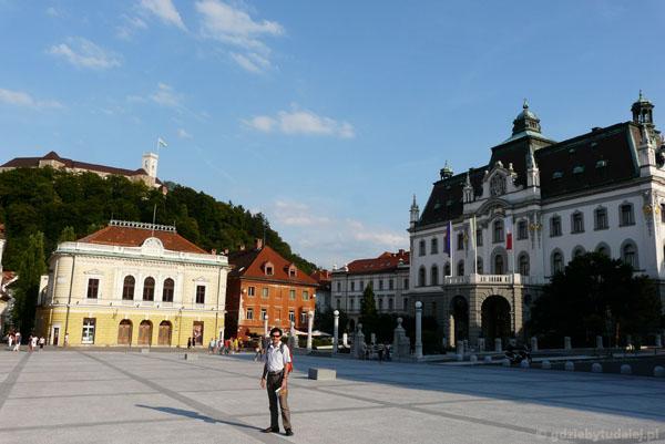 Biblioteka Narodowa i Uniwersytet, Ljubliana.