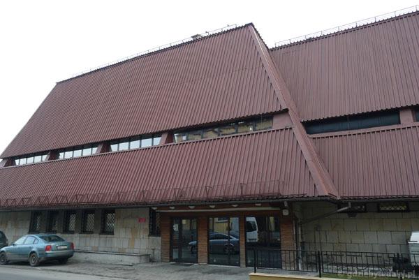 Budynek Muzeum Bieszczadzkiego PN.