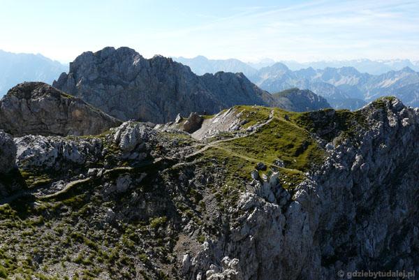 Ferratą Mittenwalder Hohenweg.