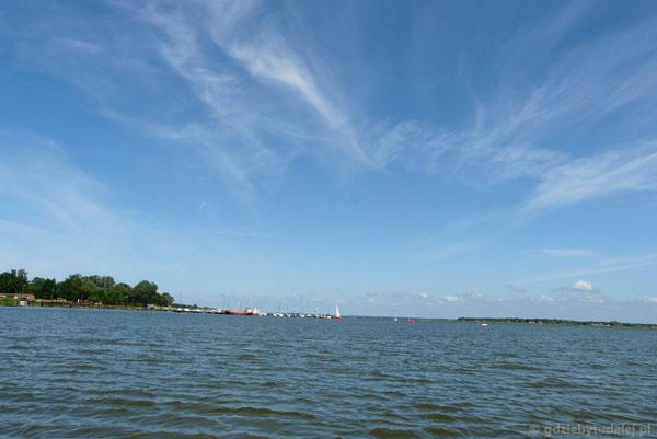Jezioro Jamno - płyniemy!.