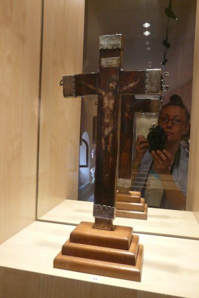 Krucyfiks, który błogosławił armię Sobieskiego.