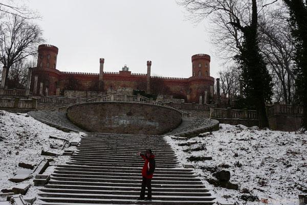 Pałac Hohenzollernów w Kamieńcu Ząbkowickim.