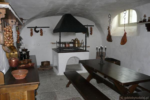 Pałacowa kuchnia.