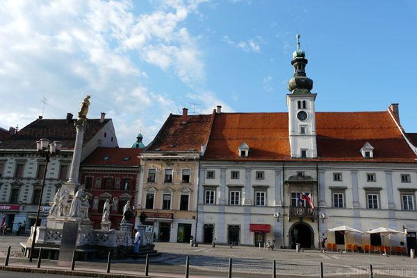Ratusz, XVI w na Glavnim trgu, Maribor.
