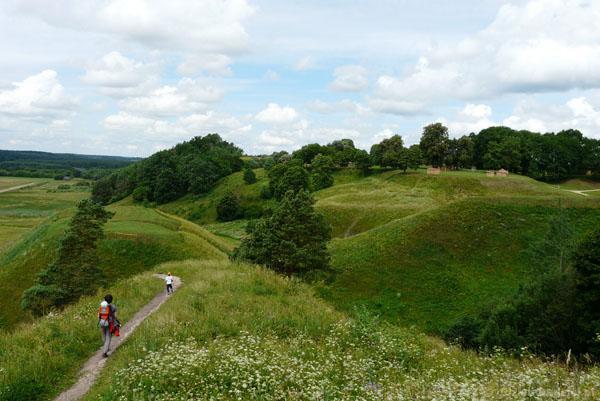 07. Rezerwat archeologiczny w Kiernowie (Kernave).