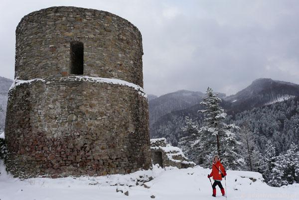 Ryterski zamek, kon. XIII w.