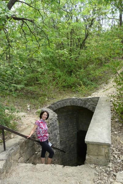 Wejście do Jaskini Loczy.