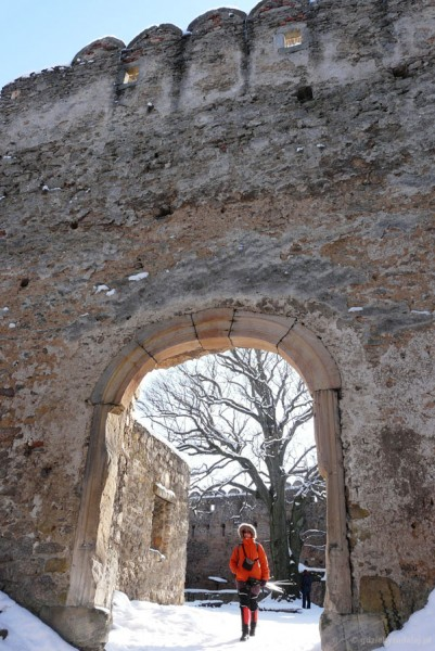 Zamek Chojnik (XIV w).