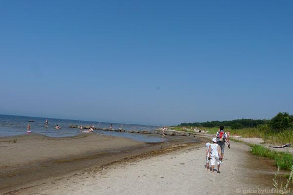 Plaża w Kabli.