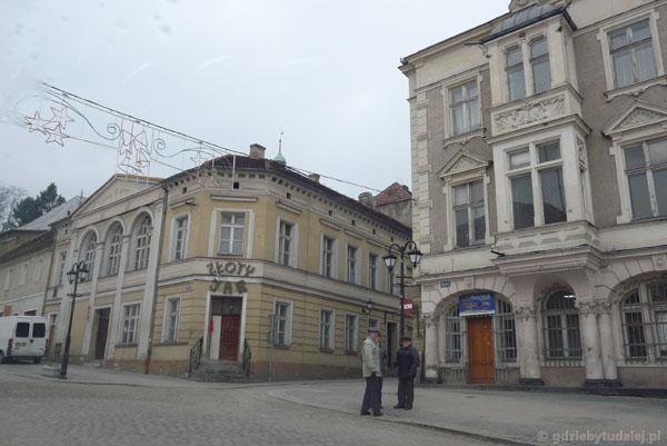 Rynek w Złotym Stoku.