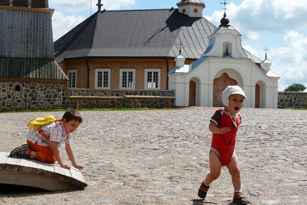 Skansen w Rumszyszkach - miasto.