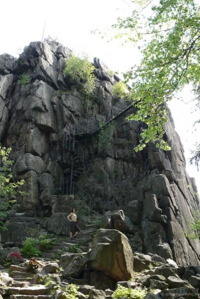 Sokolik (642 m n.p.m.), Góry Sokole, Rudawy Janowickie.