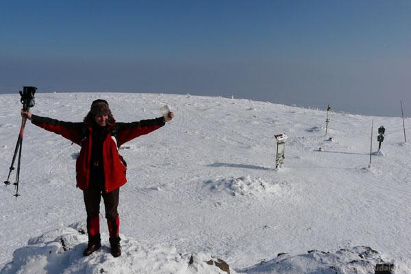 Szczyt Śnieżnika.