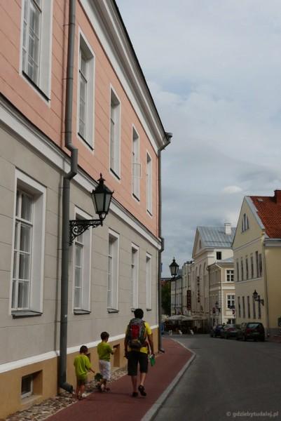 Uliczka w Tartu.