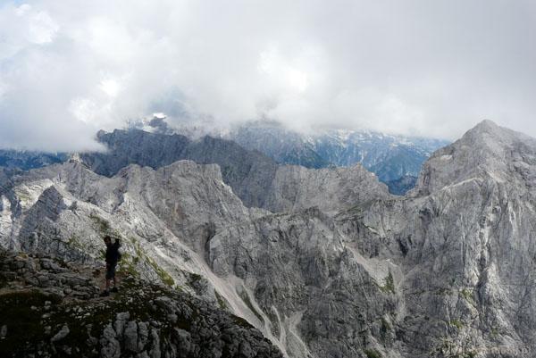Zejście włoskim szlakiem.