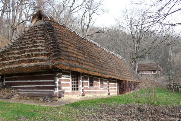 Bojkowskie chaty.