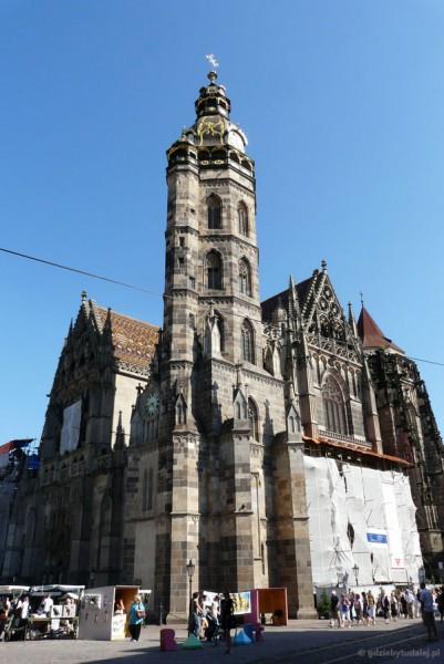 Gotycka katedra Św. Elżbiety (XIV), Koszyce.