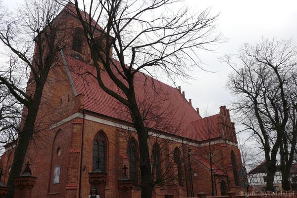 Gotycki kościół św.św. Piotra i Pawła.