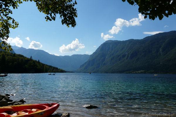 Jezioro Bohinj.