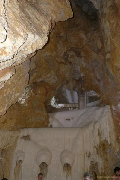 Kąpielisko w naturalnej jaskini krasowej, Miszkolc Tapolca.
