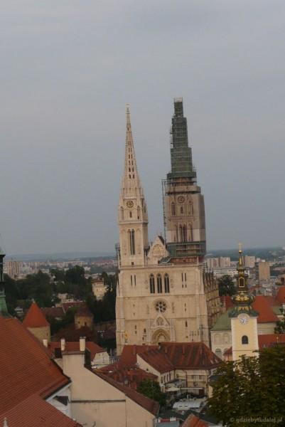 Katedra (XIII) na Wzgórzu Kaptol.