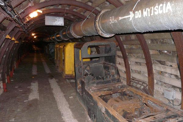 Kopalnia uranu - sztolnie Kowary.