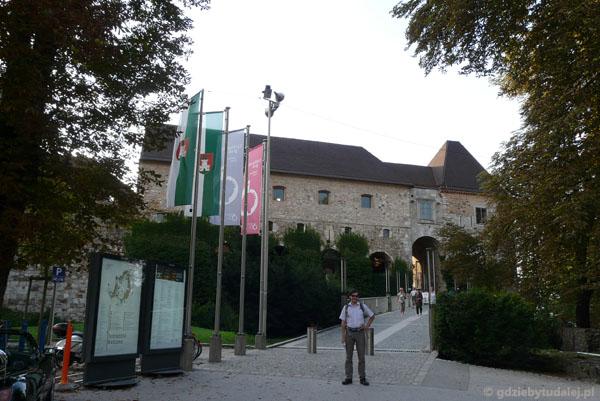Ljubliański zamek, XVI w, przeb. 2009.