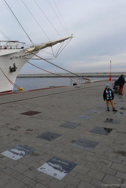 Patrzymy, jakie statki cumowały w Gdyni.