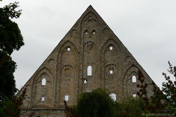 Ruiny klasztoru św. Brygidy, XV w.