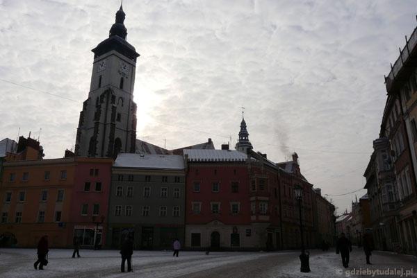 Złotoryja - gotycki Kościół Narodzenia NMP.