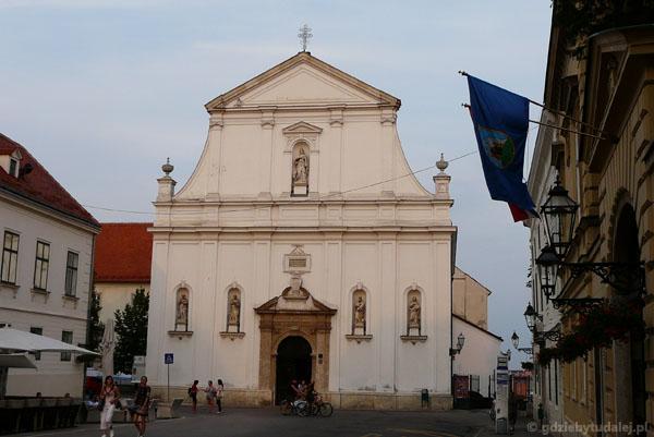 Barokowy (XVII) Kościół Św. Katarzyny.