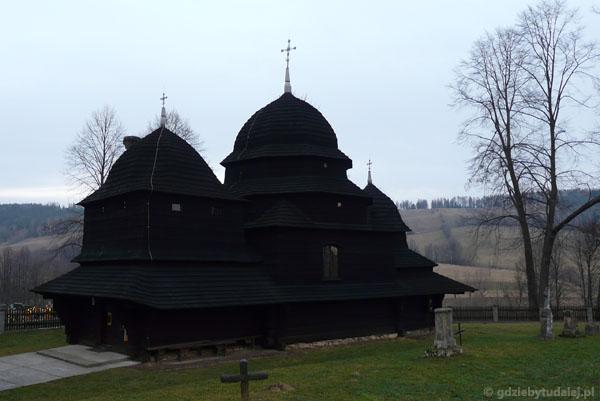 Cerkiew bojkowska (XVIII) w Równi.