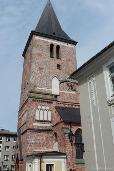 Gotycki (XIV) kościół św. Jana.