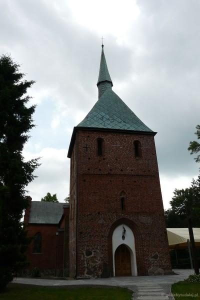 Gotycki kościół Przemienienia Pańskiego w Mielnie, XV w.