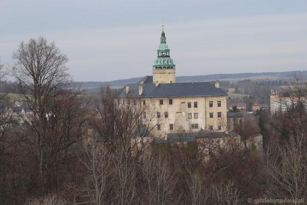 Gotycko-renesansowy zamek we Frydlancie.