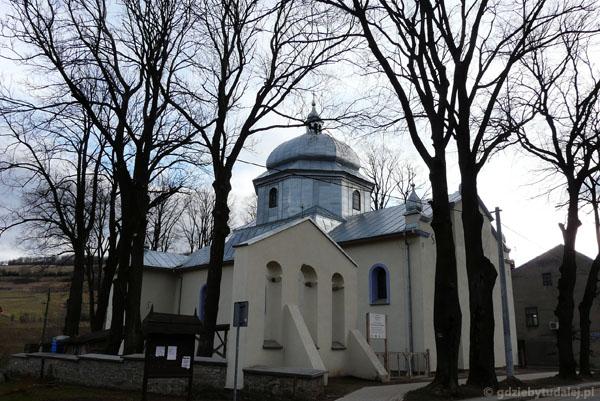 Murowana Cerkiew Uśnięcia (XIX), Baligród.