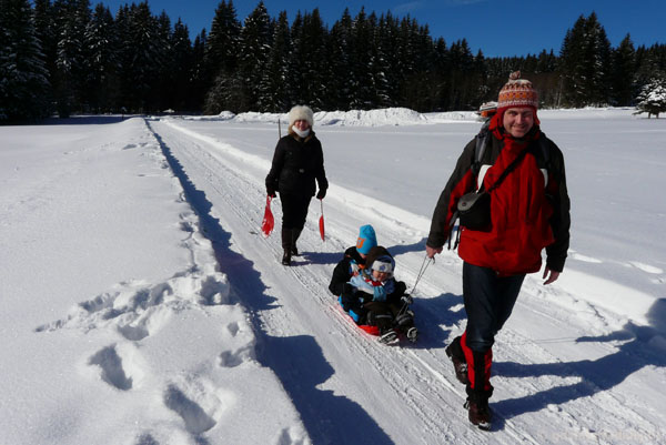 Powrót do Peca pod Snežkou.