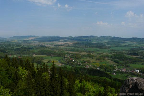 Widok z Sokolika.