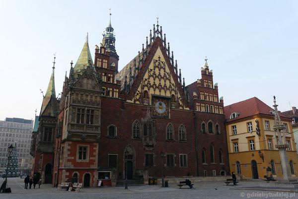 Wrocławski ratusz (XV-XVI w).