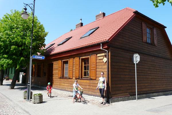 Domy tkaczy (XIX) w Supraślu.
