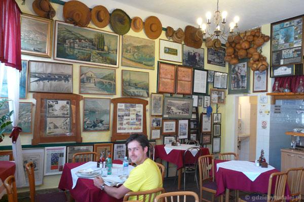 Obiad w Virpazarze.