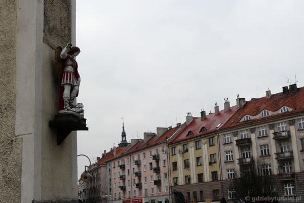 Okolice Placu Św. Józefa w Kaliszu.