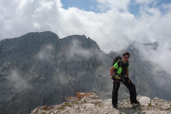R. na Alpspitze - mamy jakiś widok!.