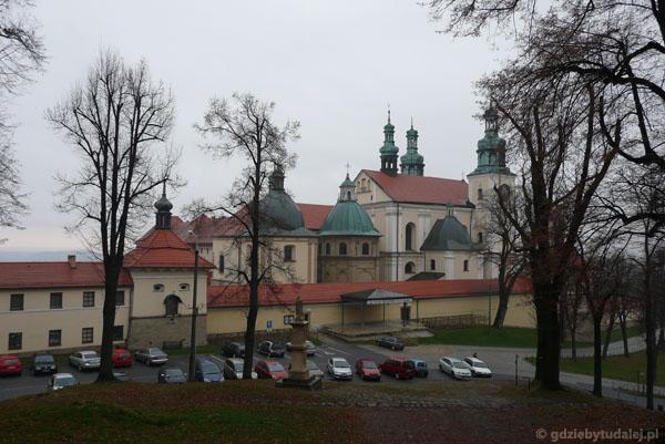 Barokowa bazylika w Kalwarii Zebrzydowskiej (pocz. XVII).