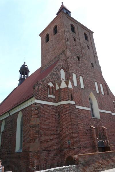 Gotycki kościół Św. Mikołaja (XIII-XIV).