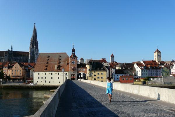 Kamienny most (XII w!) w Ratyzbonie.