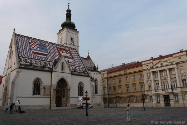 Plac św. Marka z budynkiem Sejmu (pocz. XX).