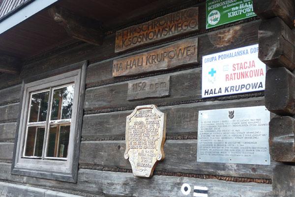 Schronisko na Hali Krupowej.